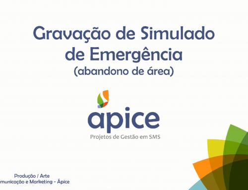 Gravação de Simulado de Emergência
